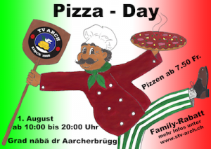 Flyer Pizza Day